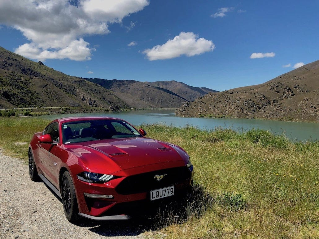 New Zealand Otago Trip in a 2019 Mustang GT